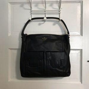 Black Leather Kate Spade Purse NWT
